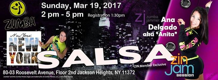 Salsa ZIN Jam Session with ZJ Ana Delgado - New York