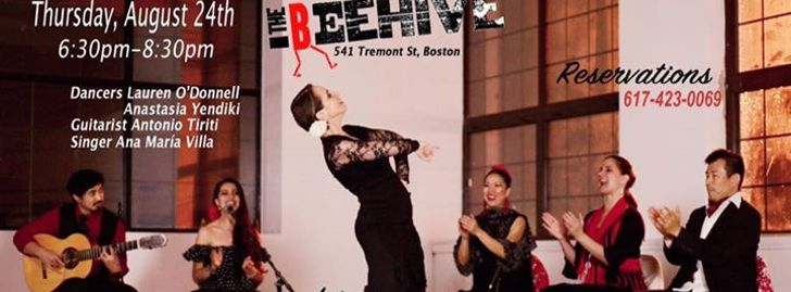 Flamenco Boston At The Beehive
