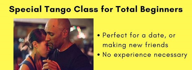 Special Tango Class for Total Beginners