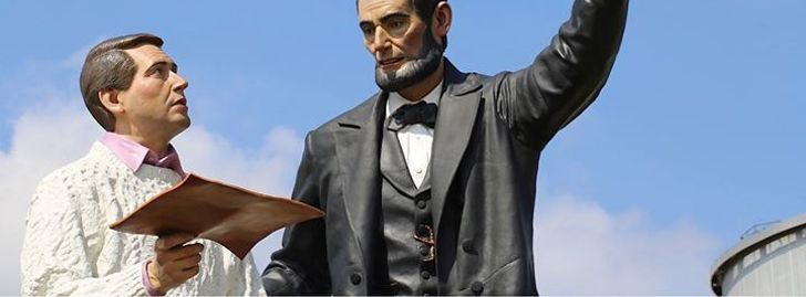 Come Dance with Abe Lincoln and The Modern Man