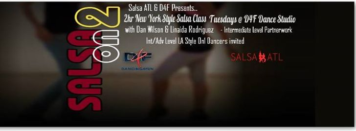 2hr SALSA ON2 (NO CLASS Tonight TUES APRIL 3RD)