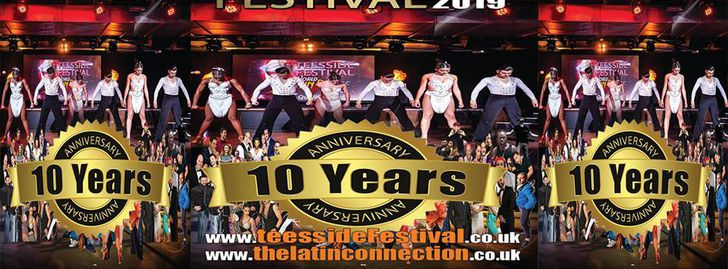 Teesside Festival UK's BIG 10th Anniversary! 26,27,28 April 2019
