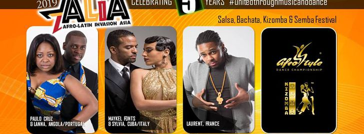 5th Edition Alia: Afro-Latin Invasion Asia 2019