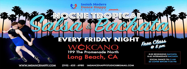 Noche Tropical: Salsa & Bachata Night - Wokcano