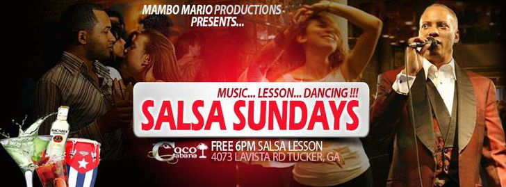 Salsa Sundays at Coco Cabana