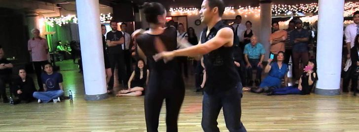 Salsa on 2 Pre-Intermediate Class with Jason Myra