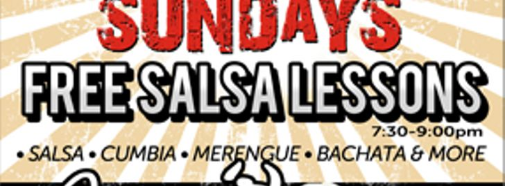 Every Sunday Night FREE Salsa Lessons at Arjon's