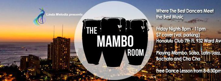 Salsa Fridays at The Mambo Room (Honolulu Club)
