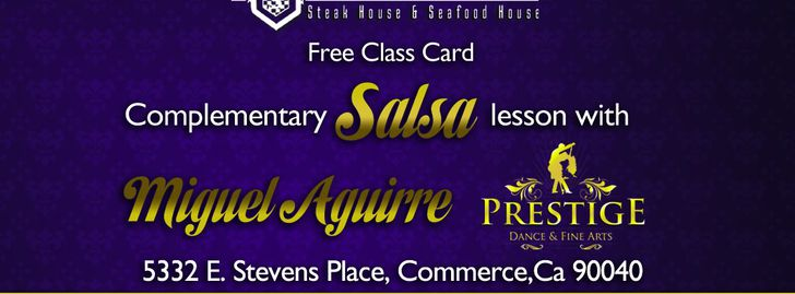 SALSA and BACHATA Sundays at Stevens Steak House