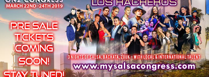 Los Angeles On2 Salsa Bachata Zouk Congress 2019