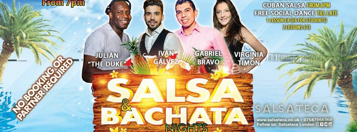 Cuban Salsa and Bachata Nights
