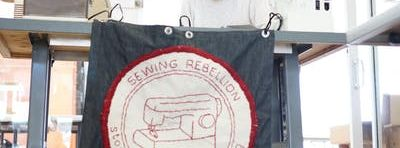 Frau Fiber's Sewing Rebellion and Monthly Craft Lounge