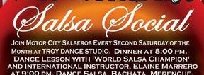Second Saturday Salsa Social at Troy Dance Studio!
