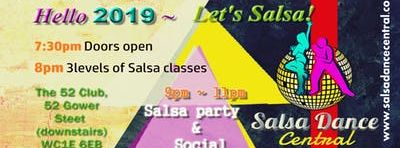 January SPECIAL OFFER Salsa classes for beginners