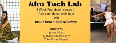 Afro Tech Free Taster 28th Jan with Iris De Brito & Andrea Stewart