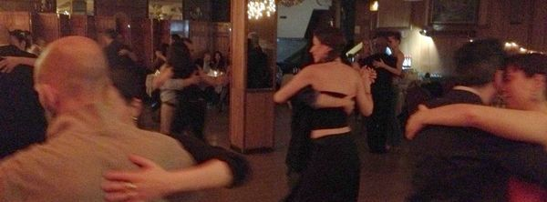 NYC tango & folklore meetup on Monday night, classes & dancing 'til 1:15am!