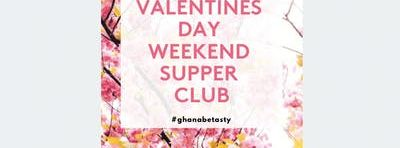 Zoe's Ghana Kitchen Valentines Supper Club