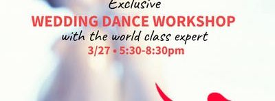 Exclusive Wedding Dance Workshop With World Champion Instructor