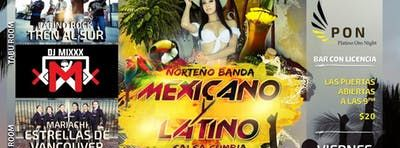 Platino oro presents; Mariachi Norteno Banda Y Latino Rock Salsa Cumbia at the Waldorf Hotel