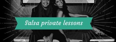Salsa private lessons with Abraham and Michelle