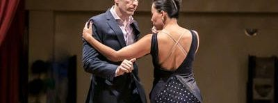 Argentine tango with Felipe and Ayano