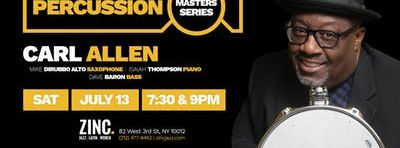 Percussion Masters Series: Carl Allen