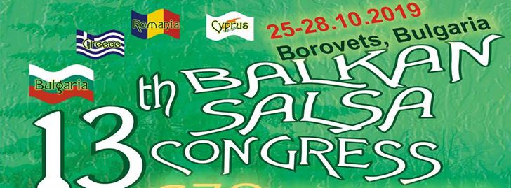 13th Balkan Salsa Congress - official event