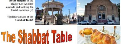 The Shabbat Table: August