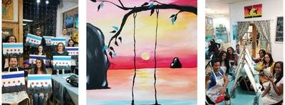 "BYOB Sip & Paint Event - ""Swinging in Paradise"""