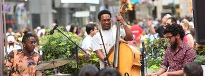 Jazz in Times Square: September