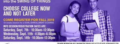 Early College Information Sessions
