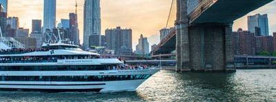 NYC #1 Official Latina Sunset Cruise on Hornblower's Mega Yacht INFINITY - Boat Party