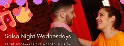 Free Salsa Classes at The Bootmaker - Chelmsford