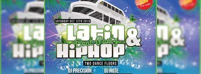 Latin & HipHop Boat Party (Upstairs Latin & Downstairs HipHop)