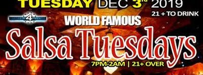 World Famous Salsa Tuesday @ Alhambra Palace (Dec. 3rd 2019)