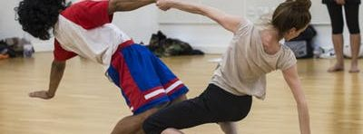 Open level dance classes at Studio Wayne McGregor