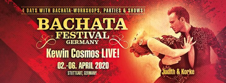 Bachata Festival Germany / Stuttgart - April 02-06, 2020