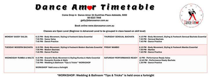 Adelaide Salsa Classes