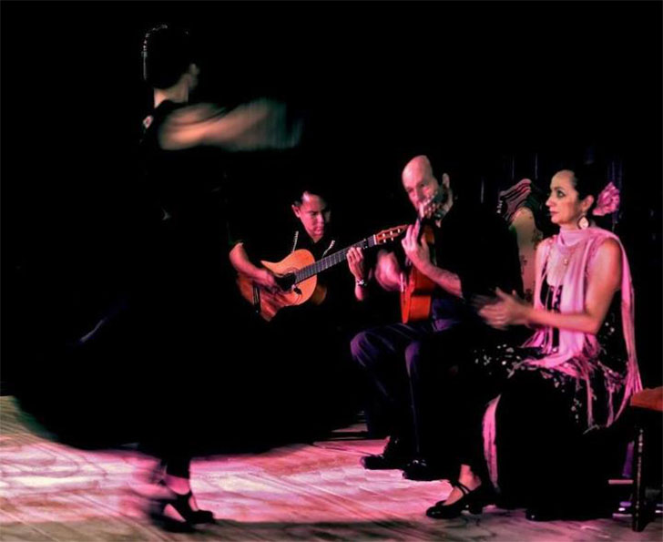In Flamenco, the dancer does not follow the guitarist, the guitarist follows the dancer.
