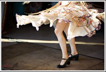 The A to Z's of Flamenco Dance:  K is for Knees
