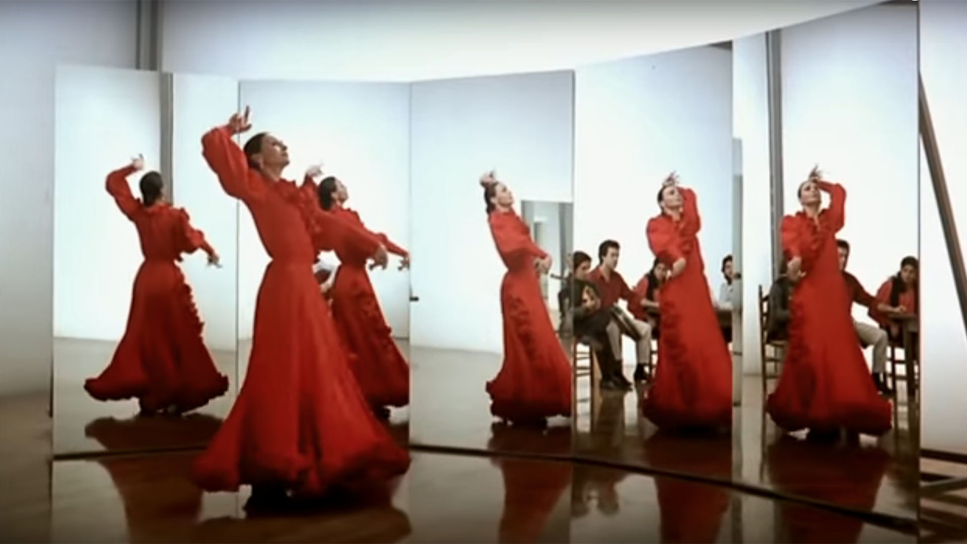 The A to Z's of Flamenco Dance:  M is for Mirror