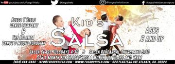 Children's Salsa Classes and Performance team w/FYH