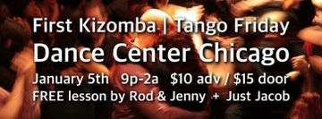 First Kizomba | Tango Friday at Dance Center Chicago