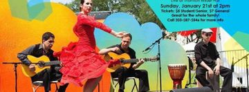 Sunday Series: Val Ramos and the Flamenco Ensemble
