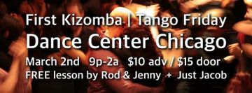 First Kizomba | Tango Friday at Dance Center Chicago March 2018