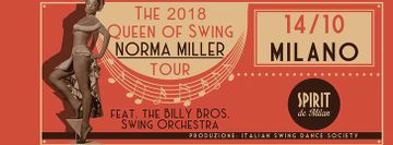 NORMA MILLER & Billy Bros Swing Orchestra