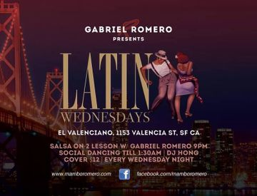 Latin Wednesdays - El Valenciano Restaurant & Bar
