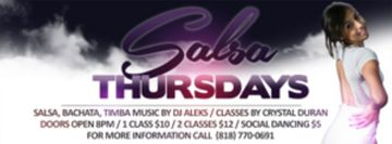 Salsa Thursdays - Club Rain