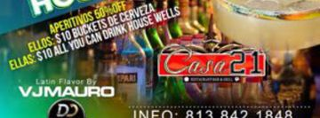 Latin Tuesday Nights - Casa 21