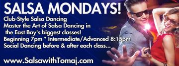 Salsa Mondays - Classes & Social Dancing for ALL Levels!